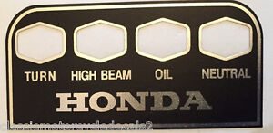 HONDA-CB500F-CB500K-CB550-CB750K-K3-K4-K5-CB750K2-K6-ADVERTENCIA-CONSOLA