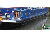 59ft Narrow Boat with mooring at beautiful Bath Marina