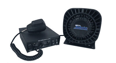 HornBlasters 100 Watt Public Address System with Sirens