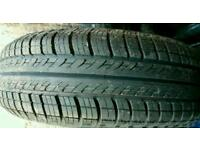 175 65 14 tyre on ford rim