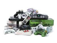 Retro consoles, games wanted