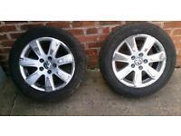 4x16 inch alloys Passat VW AUDI Skoda