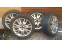 Reduced Renault Alloy Wheels