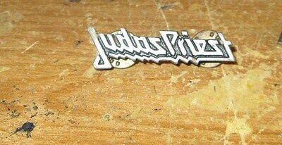 JUDAS PRIEST VINTAGE METAL LAPEL PIN NEW FROM LATE 90'S HEAVY METAL