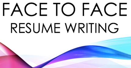 Face to Face Resume Writing- Fast Response