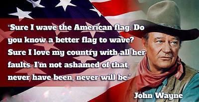 "John Wayne Quote refrigerator magnet 2  1/2 ""X 5  """