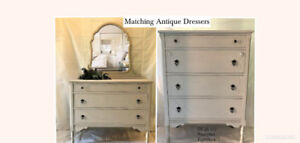 Restyled Antique Dressers