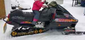 Trade for a skidoo trailer