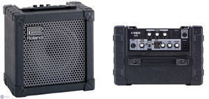 Roland Cube 15 Amp, effects and EQ.