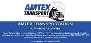 NOW HIRING AZ DRIVERS - AMTEX TRANSPORT