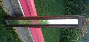 """OLD mirror 49"""" wide x 8"""" tall mortise and tenon joint"""
