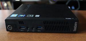 Mini Ordinateur Lenovo Tiny I5-2,9Ghz-8GB-500GB W10Pro