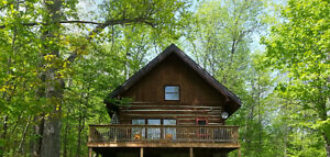 Log cottage Calabogie Lake -max 6 Adults4 minutes from the beach