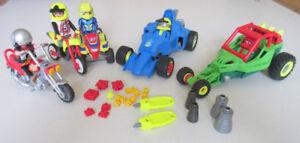Playmobil ensemble de véhicules