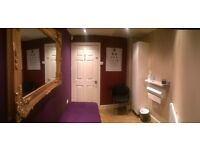 Treatment / Beauty Aesthetic / Therapy Room Available in busy salon .