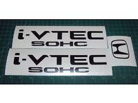 I Vtech SOHC Jdm Decal Set of 3 Mugen JDM Spoon Honda Civic Accord Prelude CRX