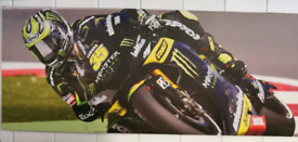 Canvas frame prints moto gp
