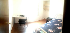 Start in May, non-basement room in all female house 7min to Mac