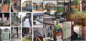 Aluminum & Iron  Railings, Fencing & Gates by Weld Can MFG.