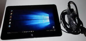 Dell tablet W10/webcam/HDMI/USB /SSD 64GB