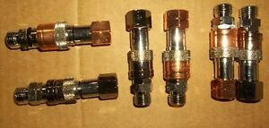 3 - SETS OF HOSE TO TORCH QUICK CONNECTORS