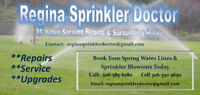 sprinkler repairs and blow outs