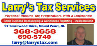 'Personal Income Tax Preparation, with a difference'