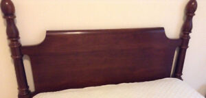 Headboard-for single/twin/3/4bed frame. Solid Cherry by Gibbard