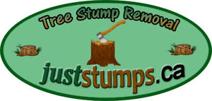 Just Stumps.ca - Stump grinding and small tree and brush removal