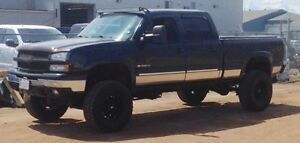 2003 Chevy Silverado 1500 HD Lifted