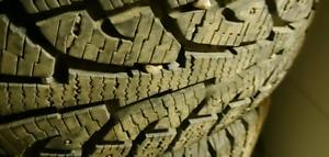 4 Hankook i pike RW 11 studded winter tires