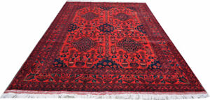 Afghan Khalmohamade rug made with the softWool of sheep Area Rug
