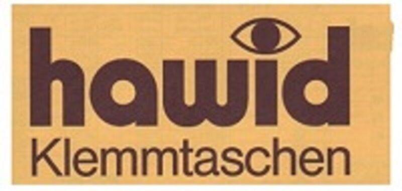 hawid Klemmtaschen  Streifen schwarz 210 mm lang für Markenhöhe 21 mm bis 55 mm