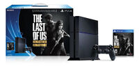PlayStation 4 500GB The Last of Us Remastered Bundle PS4 Console