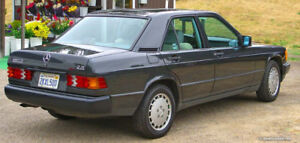Looking for Mercedes 190 D