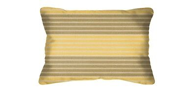 lumbar pillows prestige yarrow 40316 yellow striped