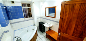 Large room with attached bath+toilet