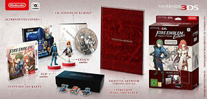 Fire Emblem Echoes Limited Edition + Amiibo (Alm & Celicia)