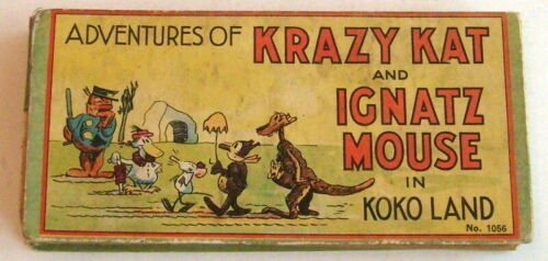 Adventures of Krazy Kat #1056, 1934, oblong