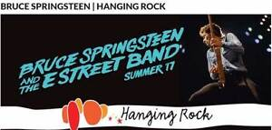 Bruce Springsteen @ Hanging Rock - Sat 11th Feb - A RES X 2 SEATS Kensington Eastern Suburbs Preview