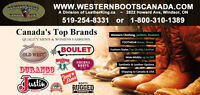 Canada's Western Boot Superstore