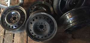 "17"" Steel Wheels 8"" Wide"
