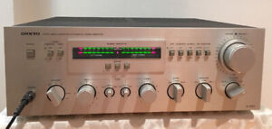 Vintage Onkyo A7090 Stereo Integrated Amplifier and T4090 Tuner