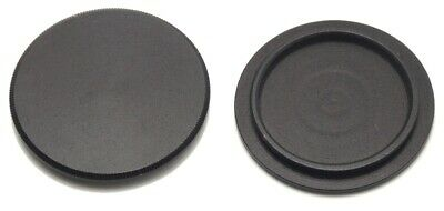 M42 Black Metal Body Cap NEW For Asahi Pentax Spotmatic Screwmount Camera Body - $4.99