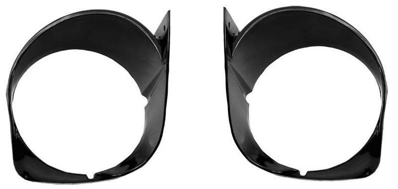 1970 Ford Mustang Headlamp Bezels Pair New Dii
