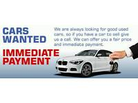 CARS VANS CARAVANS MOTORHOMES ETC WANTED FOR CASH 07954802535