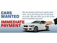 CARS VANS CARAVANS MOTORHOMES ETC WANTED FOR CASH 07954802535