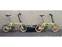 """Bike/Bicycle.2 x """" BIKE IN A BAG """" FOLDING BICYCLES ( as new condition)"""