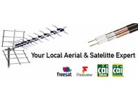 LOCAL AERIAL AND SKY SERVICE ENGINEER 01698 749246. TV WALLMOUNTING AND CCTV INSTALLATION