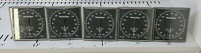 5 Used Welch Allyn Ce0050 Sphygmomanometers With Bracket